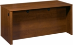 Embassy Executive Desk with Wire Management and Full Modesty Panel - Tuscany Brown [60400-2163-FS-BS]