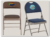Embroidered Folding Chairs