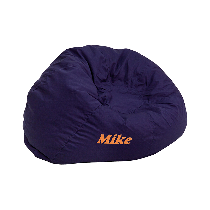 embroidered-small-solid-navy-blue-kids-bean-bag-chair-dg-bean-small ...