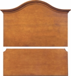 Emerson Arched Headboard Footboard Set [C2093-FS-HKM]