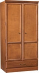 Emerson Double Door Wardrobe With Drawer [C2013-FS-HKM]