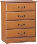 Emerson Four Drawer Chest [C2020-FS-HKM]