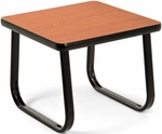 End Table with Sled Base - Cherry [TABLE2020-CHY-FS-MFO]