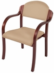 England Stacking Chair with Arms - Grade 3 [ENGLAND-STACKING-CHAIR-GR3-FS-HSAG]