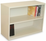 Ensemble 36'' W x 14'' D x 27'' H Two Shelf Bookcase - Putty Finish [MSBC236-UT-FS-MVL]