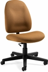 Enterprise Low Back Armless Task Chair with Casters - Grade 3 [4577-6-GR3-FS-GLO]
