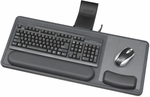 Ergo-Comfort® Sit and Stand Articulating Keyboard and Mouse Arm - Black Granite Fleck [2196-FS-SAF]