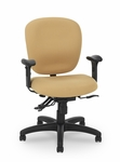 Urban Medium Back Task Chair with Four-Paddle Executive Control [PS-5854-2481XL-FS-EOF]