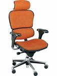 Ergohuman Series High Back 26.5'' W x 29'' D x 46'' H Adjustable Height Task Chair - Fabrix [LE9ERG-FAB-FS-EURO]
