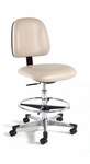 Ergonomic Laboratory Chair Base with Toe Caps [812-FS-INT]