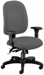 Ergonomic Task Chair - Gray [125-801-FS-MFO]