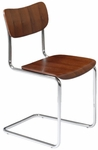 Erling Side Chair in Dark Walnut (Set of 4) [17240DKWAL-FS-ERS]