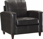 OSP Furniture Eco Leather Club Chair - Espresso [SL2811-EC1-FS-OS]