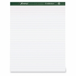 Tops Easel Pad - 1'' Ruled - 50 Sheets - 27'' x 34'' - White [TOP24034-FS-SP]