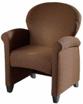Essence Lounge Chair with Wood Legs [832-MTS]
