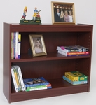30'' H x 36''W Essentials Laminate Bookcase with Adjustable Shelf [7801-NIND]