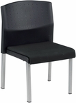 Europa 23.5'' W Stack Chair - Black [410-MFO]