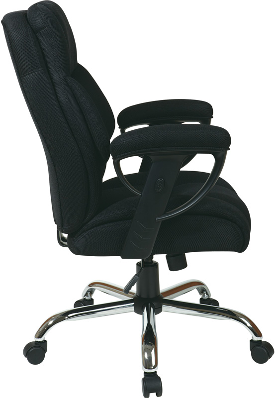 work smart executive mesh big man 39 s chair with 350 lb weight capacity