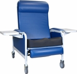 Extra Large Convalescent Recliner with Saddle Seat - 3 Positions [529S-FS-WIN]