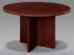 Fairplex 47'' Round Conference Table - Mahogany [7006-721-FS-DMI]