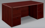 Fairplex Executive Desk - Mahogany [7006-36-FS-DMI]