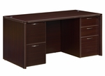 Fairplex Junior Executive Desk - Mocha [7004-30-FS-DMI]