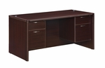 Fairplex Junior Executive Desk with .75 Peds [7004-30Q-FS-DMI]