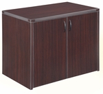 Fairplex Two Door Cabinet - Mocha [7004-540-FS-DMI]