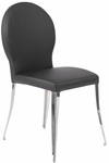 Farid Side Chair in Black [02302BLK-FS-ERS]