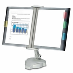 Fellowes Desktop Reference Top -Weighted Base -21 1/8'' x 7 1/8'' x 18 5/8 -PM [FEL22300-FS-SP]