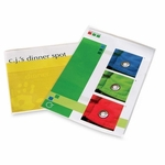 Fellowes Laminating Pouches -Menu Size -18'' x 12'' -25/PK -CL [FEL52011-FS-SP]