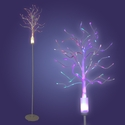 Fiber Optic Tree in White