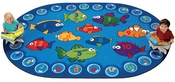 Fishing for Literacy ABC's and 123's Rug