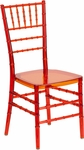 Flash Elegance Crystal Crimson Stacking Chiavari Chair with Free Cushion [BH-CRIM-CRYSTAL-GG]