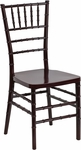 HERCULES PREMIUM Series Mahogany Resin Stacking Chiavari Chair [LE-MAHOGANY-GG]