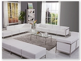 Flash Furniture Imagination Reception Series in White
