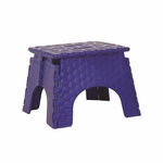 Flat Folding Step Stool [STEP-STOOL-BLUE-FS-OR]