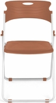 Flexure Folding Chair with Polypropylene Seat and Back - Caramel [303-P22-MFO]