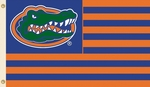Florida Gators 3' X 5' Flag with Grommets - Striped USA Style [35109-FS-BSI]