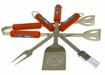 Florida Gators 4 Pc Bbq Set [61009-FS-BSI]