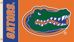 Florida Gators Orange 3' X 5' Flag with Grommets [35209-FS-BSI]