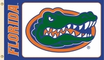 Florida Gators White 3' X 5' Flag with Grommets [35009-FS-BSI]