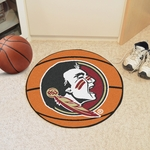 Florida State University Basketball Mat 27'' Diameter - Mascot Design [4317-FS-FAN]