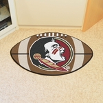 Florida State University Football Mat 22'' x 35'' - Mascot Design [4319-FS-FAN]