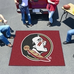 Florida State University Tailgater Mat 60'' x 72'' - Mascot Design [4316-FS-FAN]
