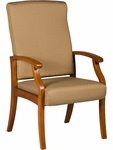 Florin 300 lb. Capacity High Back Guest Chair - Grade 2 Fabric [FL10H-GRD2-FS-LZBF]
