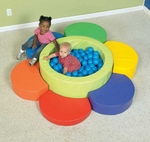 Flower Petal Soft Ball Pool [CF322-226-FS-CHF]