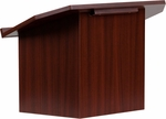 Foldable Mahogany Tabletop Lectern [MT-M8833-LECT-GG]