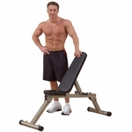 12 Position Adjustable Folding Weight Bench [BFFID10-FS-BODY]