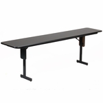 Folding Fixed Height Panel Leg Rectangular Seminar and Training Table - 18''D x 60''W [SP1860PX-CRL]